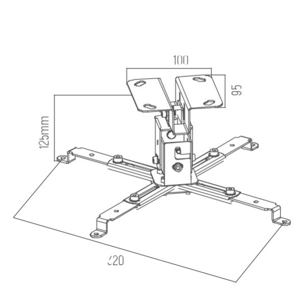 Кронштейн для проектора ITech P300