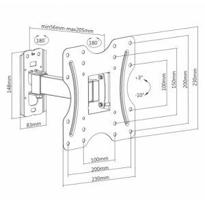 Кронштейн iTech LCD-522B