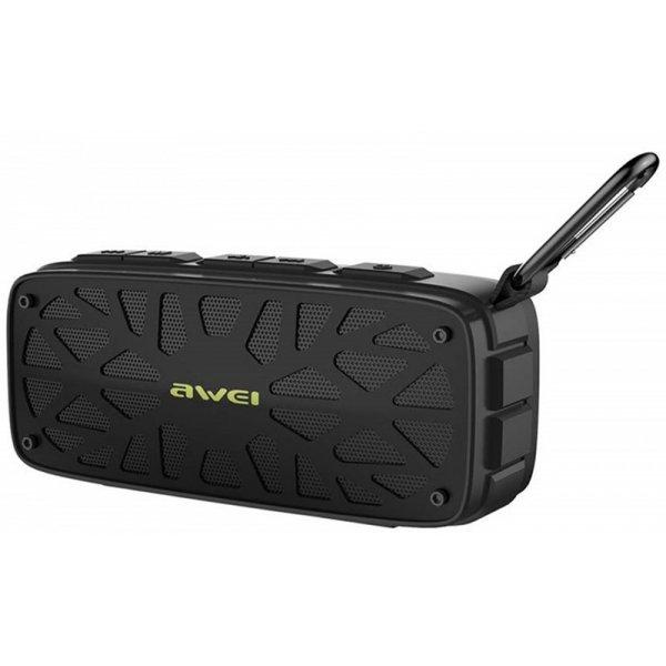 Портативные колонки Портативная акустика AWEI Y330 Bluetooth Speaker Black