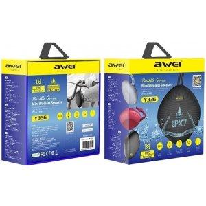 Портативные колонки Портативная акустика AWEI Y336 Bluetooth Speaker Black