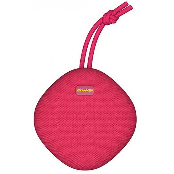 Портативные колонки Портативная акустика AWEI Y336 Bluetooth Speaker Red
