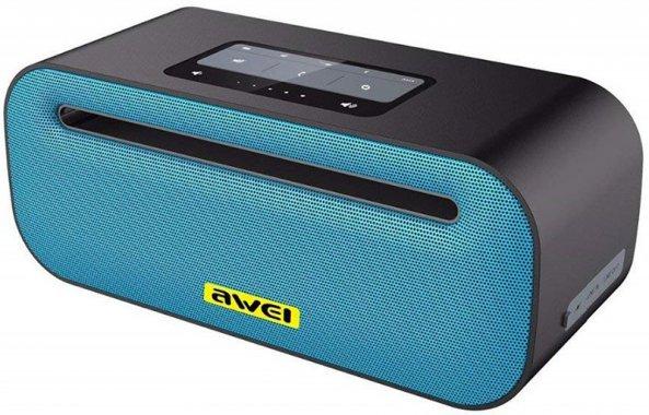 akustika awei blue bluetooth kolonki portativnaya portativnye speaker y600