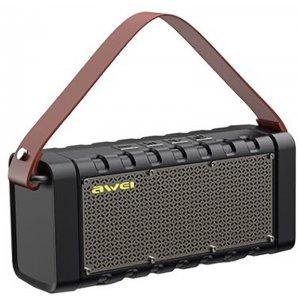 Портативные колонки Портативная акустика AWEI Y668 Bluetooth Speaker Black