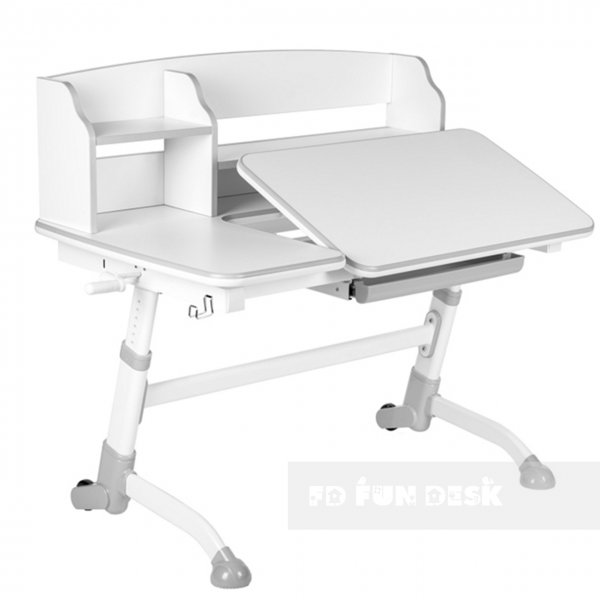 Стол-трансформер FunDesk Amare II Grey