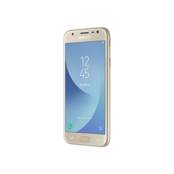 Смартфон Samsung SM-J330 (Galaxy J3 2017 Duos) Gold (SM-J330FZDDSEK)