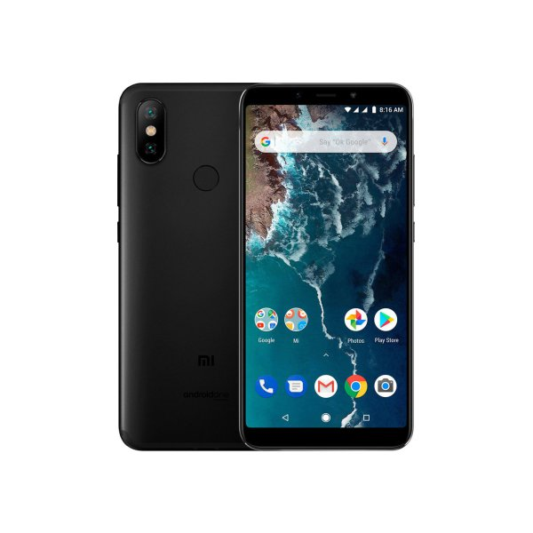 Смартфон Xiaomi Mi A2 6/128GB Black (Global)