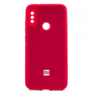 """ORIGINAL SILICONE Cover для Xiaomi Redmi 6 Pro/Mi A2 Lite """"07"""" Red"""