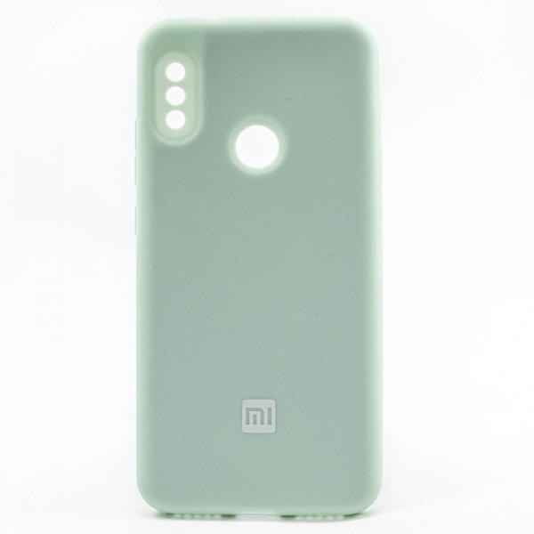"""ORIGINAL SILICONE Cover для Xiaomi Redmi 6 Pro/Mi A2 Lite """"10"""" Blue"""