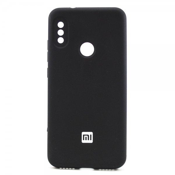 "ORIGINAL SILICONE Cover для Xiaomi Redmi 6 Pro/Mi A2 Lite ""14"" Black"