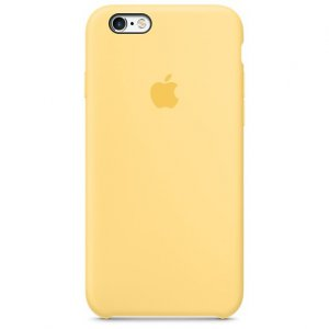 Чехол-накладка TOTO Silicone Case iPhone 6 Plus/6S Plus Yellow