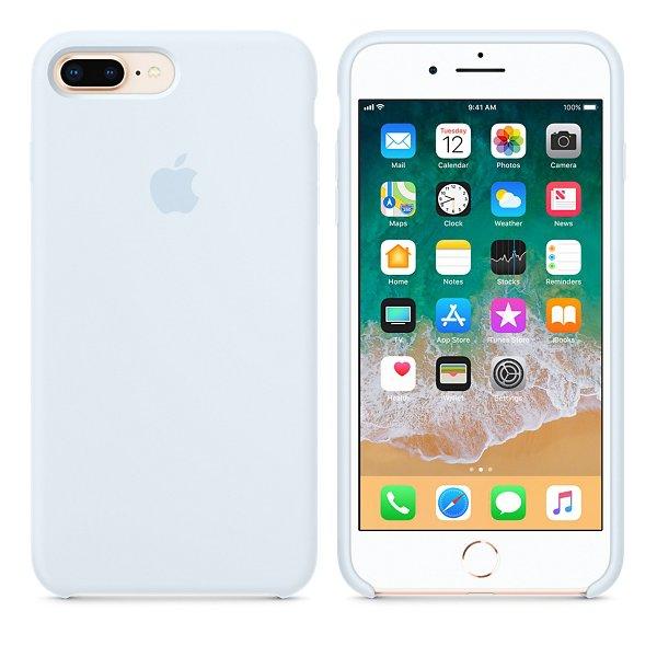 Чехол Silicone Case для iPhone 7 Plus Sky Blue