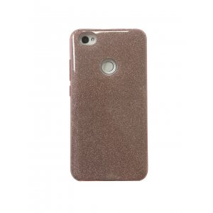 Silicone 3in1 Блёстки Xiaomi RedMi Note 5A / Note 5A Prime Pink