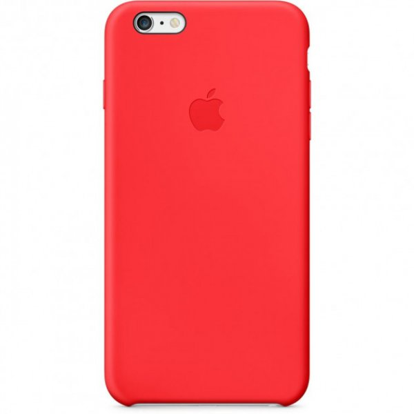 Чехол-накладка TOTO Silicone Case iPhone 6 Plus/6s Plus Red