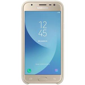 ORIGINAL SILICONE Cover Samsung J330 (J3 2017) White