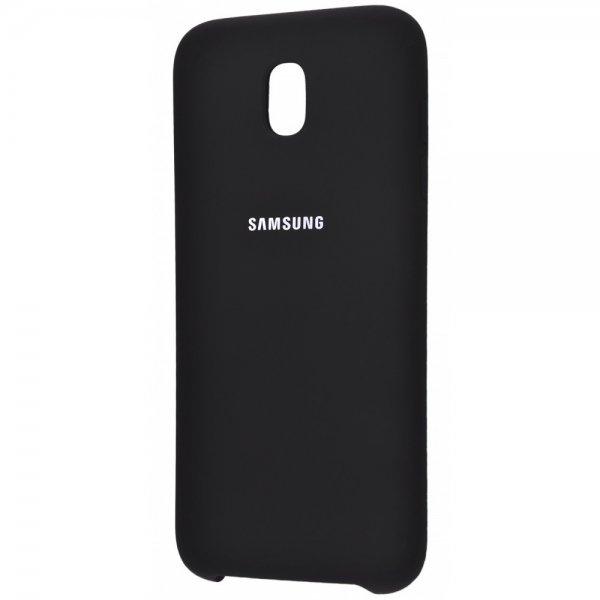 ORIGINAL SILICONE Cover Samsung J530 (J5 2017) Black