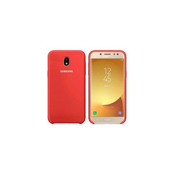 ORIGINAL SILICONE Cover Samsung J530 (J5 2017) Red