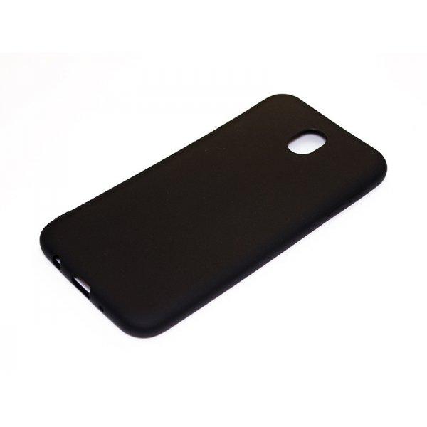 ORIGINAL SILICONE Cover Samsung J730 (J7 2017) Black