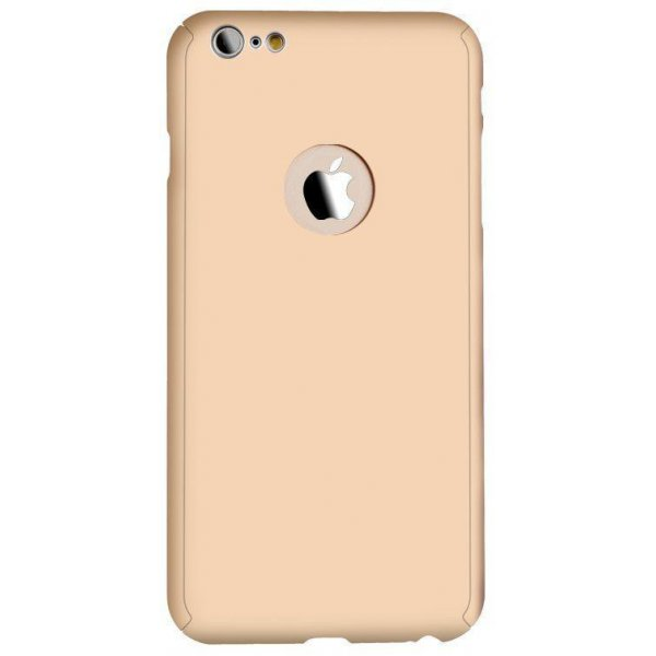 Чехол для смартфона iPaky 360 Whole Round iPhone 6 Gold