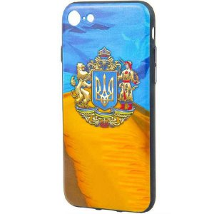Чехол WK Ukraine iPhone 7/8 (CL-1913)