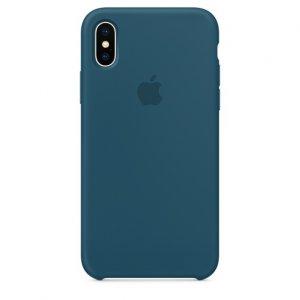 Чехол Silicone Case для iPhone X/Xs Cosmos Blue