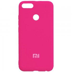 ORIGINAL SILICONE Cover Xiaomi Mi5X/MiA1 Pink