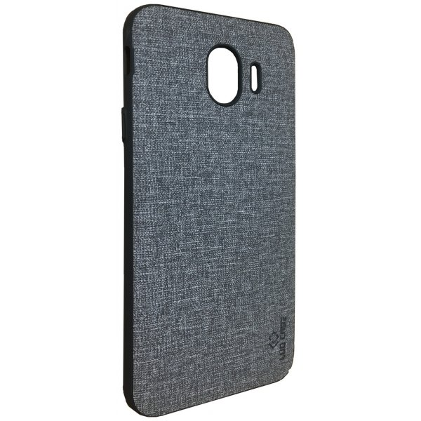 LUO Case Накладка Алькантара для Samsung J6 2018 Gray