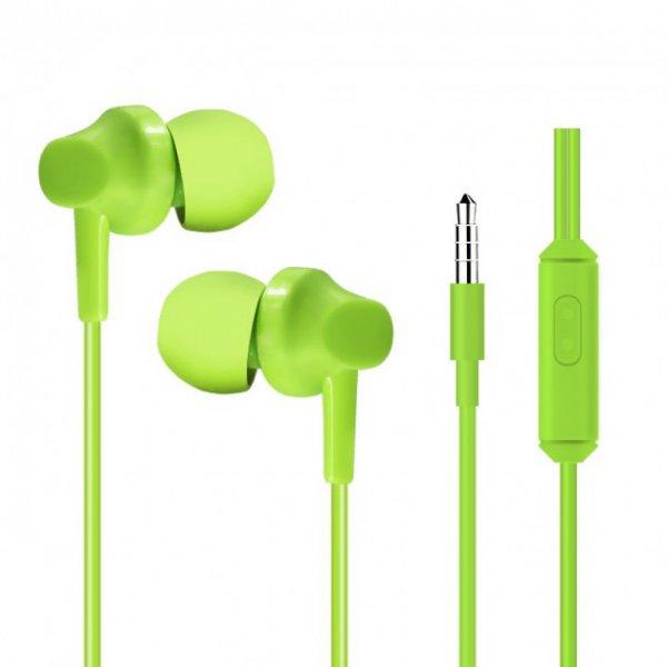 Наушники HeyDr H-97 Wired Earphones Green