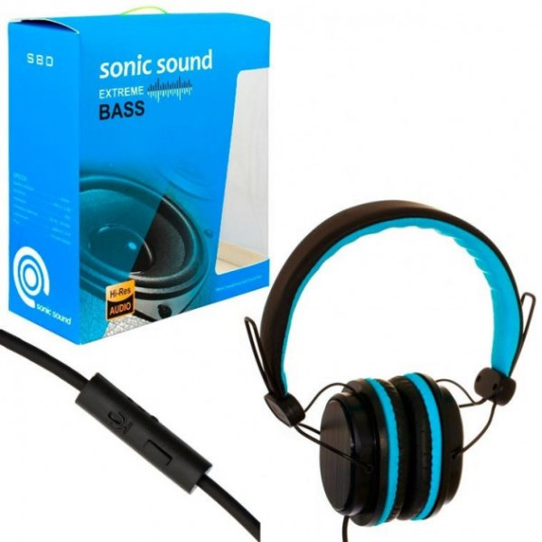 HF Sonic Sound E288 black-blue