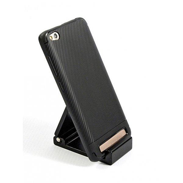 Чехол TOTO cиликон (carbon) Xiaomi RedMi 5A Black