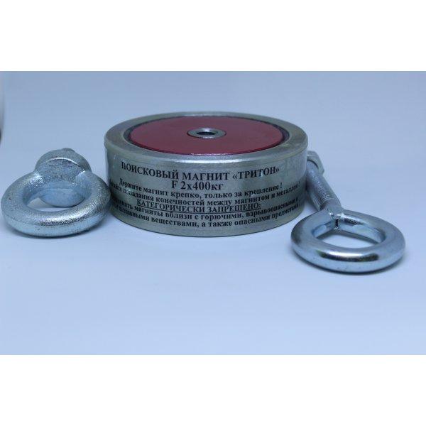 Поисковый магнит Тритон F-400 (двухстороний)