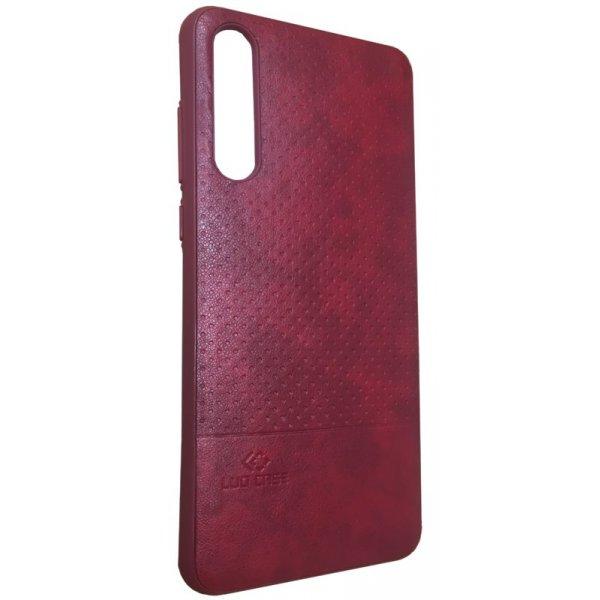 LUO Case Накладка под кожу для Xiaomi Redmi 5 Red