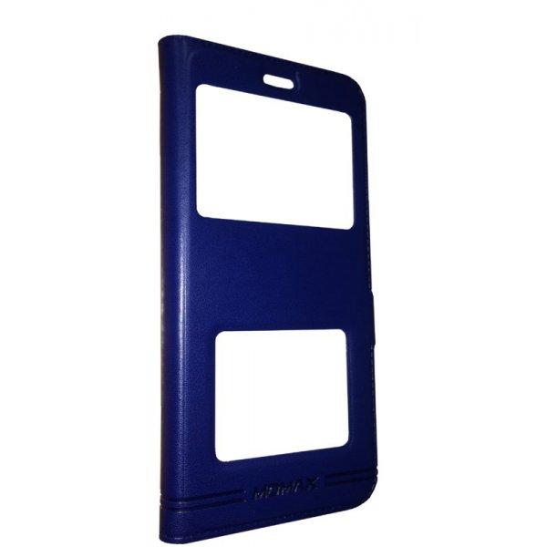 Чехол - книжка MOMAX для Xiaomi Redmi 6A Blue