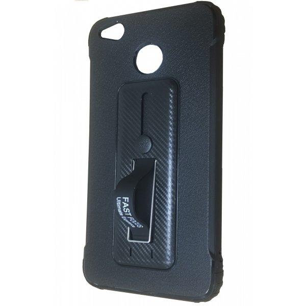 Чехол накладка ( с подставкой) Fast Focus Xiaomi Redmi Note 4/Note 4x Black
