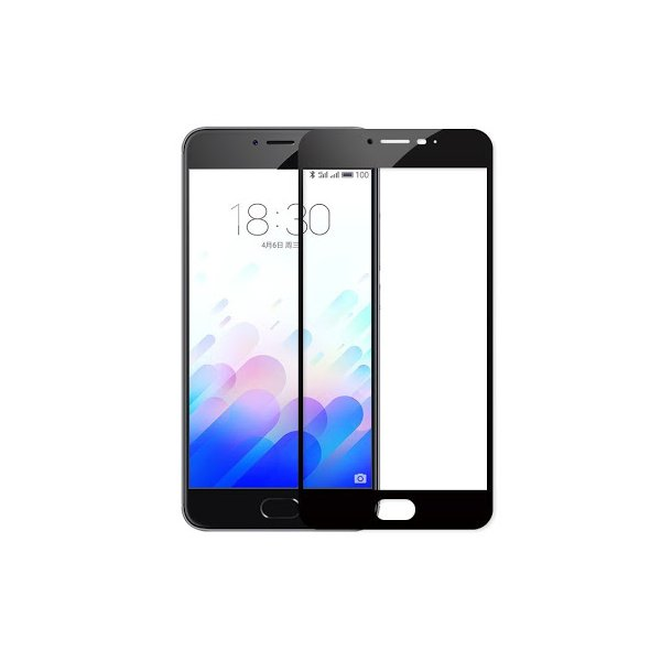Glass 2D Meizu M5C Black