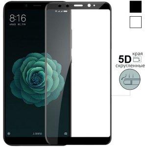 Защитное стекло 3D SLIM 0.2mm Xiaomi Mi 6X/A2 Black