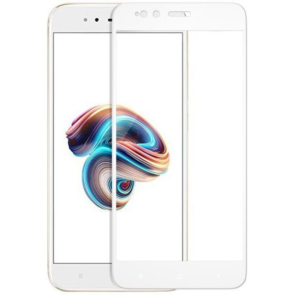 Glass 3D SLIM 0.2mm Xiaomi Mi5X / MI A1 White