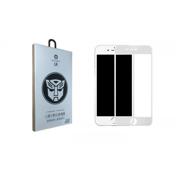 Защитное стекло TOTUDESIGN 3D 0.2mm 9H iPhone 7 Plus/8 Plus White
