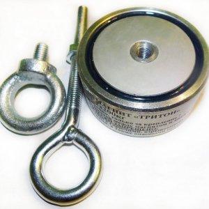 Поисковый магнит Тритон F-200 (двухсторонний)