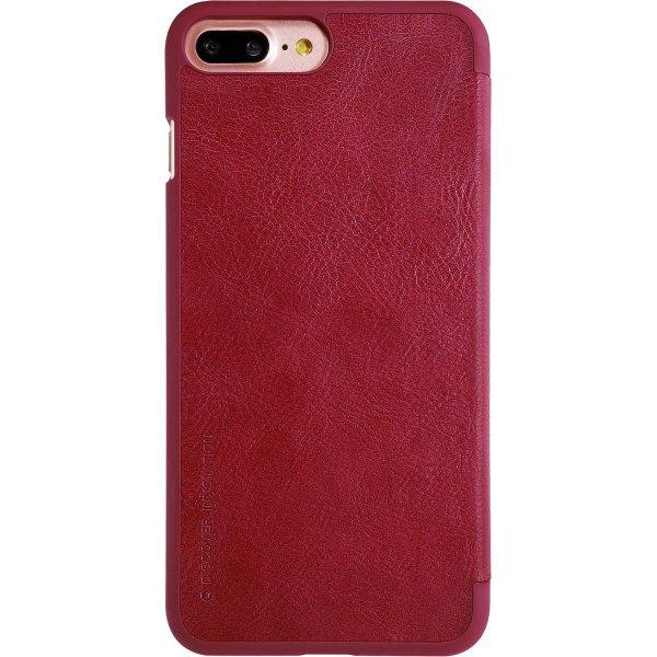 Чехол-книжка Nillkin Qin Leather Case для Apple iPhone 7 Plus/8 Plus Red