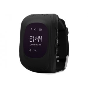 Smart Baby W5 (Q50) (GW300) GPS Smart Tracking Watch Black