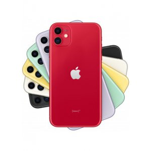 Смартфон Apple iPhone 11 64GB Dual Sim Red (MWN22)