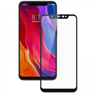 Защитное стекло Xiaomi Redmi Note 6 Full Glue 9D (0.3mm) Black 4you