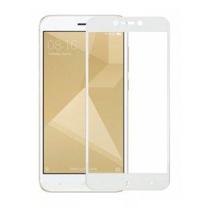 Защитное Стекло Xiaomi Redmi Note 4x 3D White iPaky