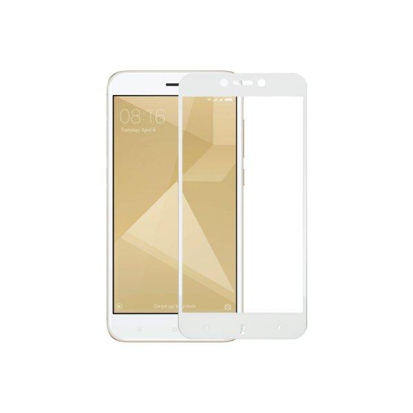 Защитное стекло 2D Xiaomi RedMi Note 4X White