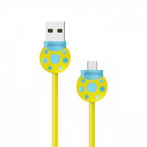 Joyroom S-L124 Beetle Series Lightning USB Cable (1.2m) —Yellow