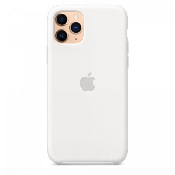 "Чехол Apple Silicone Case для iPhone 11 Pro Max ""05"" White"