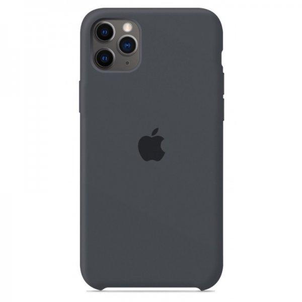 "Чехол Apple Silicone Case для iPhone 11 Pro Max ""32"" Charcol Gray"