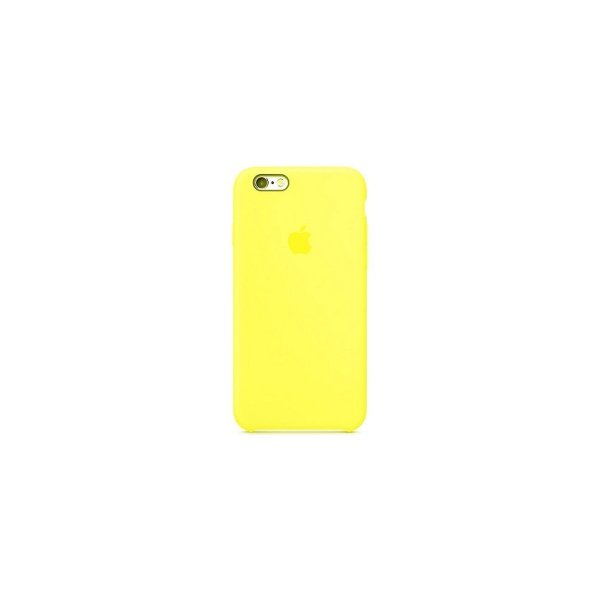 "Чехол Apple Silicone Case для iPhone 7/8 ""05"" Yellow Flash"