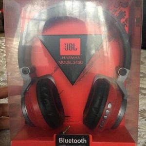 Портативные колонки Bluetooth-гарнитура JBL by Harman S-400 BT STEREO black/red