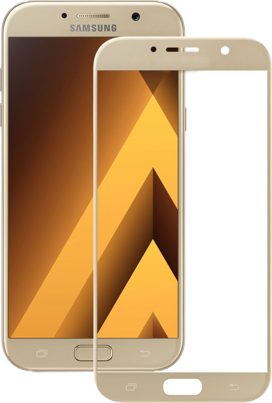 Защитное стекло TOTO 3D Full Cover Tempered Glass Samsung Galaxy A3 2017 SM-A320 Gold